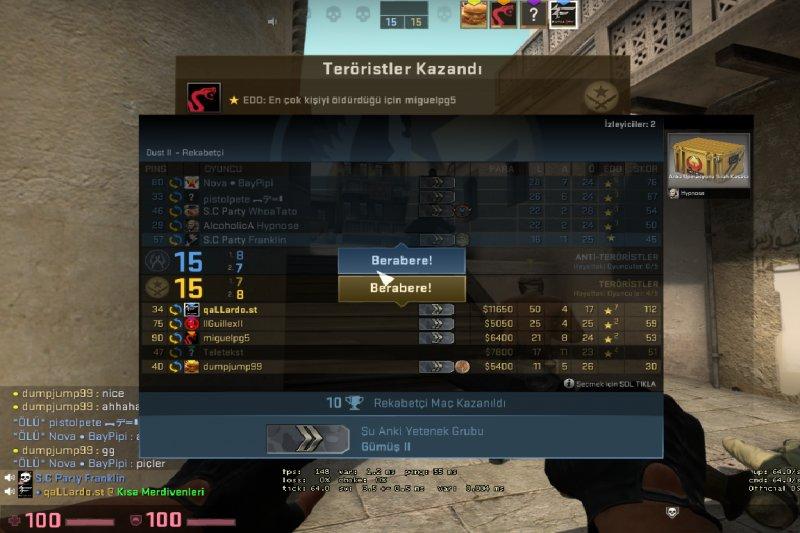 CS:GO`da rekabetçide en fazla aldığın kill sayısı kaç?