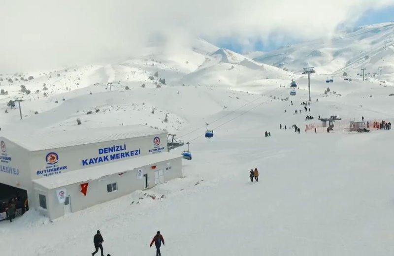 Denizli kayak merkezi