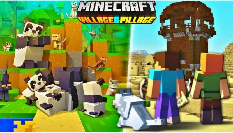Minecraft Köylü & Yağmacı Güncellemesi